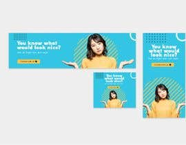 #61 for 9 banner ads with simple messaging by Nahidemdad