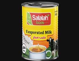 Nro 48 kilpailuun Packaging design for Evaporated Milk käyttäjältä shiblee10