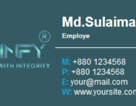 #17 for Email Signature by shahinurislamdev