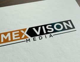 #113 untuk Mex vision media Logo oleh MjZahidHasan