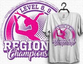 #230 cho Tshirt Design for Women's Gymnastics Championship bởi hb2659919