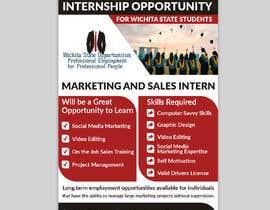 #63 para Flyer for interns por Jewelrana7542