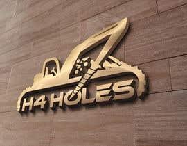 nº 244 pour H 4 Holes Logo Design par imamhossainm017