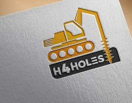 nº 279 pour H 4 Holes Logo Design par sajusaj50