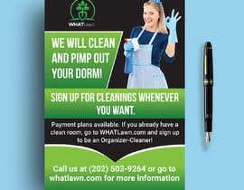 shohelhasan01 tarafından Design Dorm Cleaning Flier için no 52