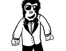 #58 cho Put A Tuxedo and Sunglasses On This Gorilla bởi Sketchem