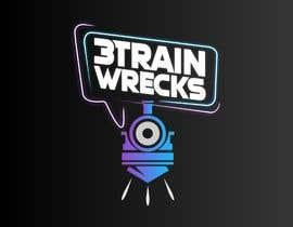 #134 for 3TrainWrecks Podcast Logo by SebaGallara