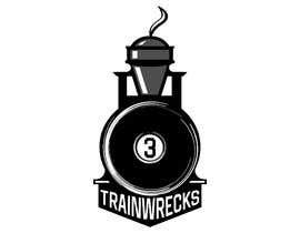 #130 for 3TrainWrecks Podcast Logo by Aadarshsharma