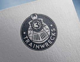#81 for 3TrainWrecks Podcast Logo by mfawzy5663