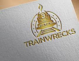 #100 for 3TrainWrecks Podcast Logo by aklimaakter01304