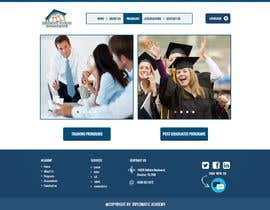 adhikery tarafından Design a Website Layout for Training company için no 5