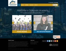 nikil02an tarafından Design a Website Layout for Training company için no 40