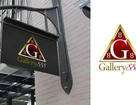 #62 for Design a Logo for Gallery 888 by zetabyte