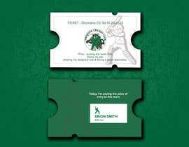 Nro 201 kilpailuun Business Card Design - Cricket Club käyttäjältä benashu26