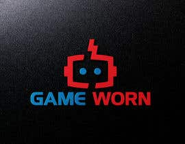 nº 314 pour GAME WORN - logo design par mstshiolyakhter1