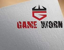 nº 316 pour GAME WORN - logo design par mstshiolyakhter1