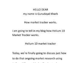 nº 13 pour 10 Helium 10 informational blog posts - new content, not scrapping. Infographics are welcome. par Gurudayal777
