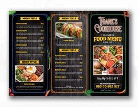 #92 cho Design a menu bởi glittergraphics