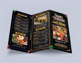 #93 cho Design a menu bởi glittergraphics