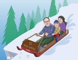 Nro 11 kilpailuun Family Holiday Card Drawing käyttäjältä Denisdean
