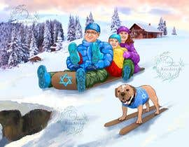 Nro 34 kilpailuun Family Holiday Card Drawing käyttäjältä Rdower