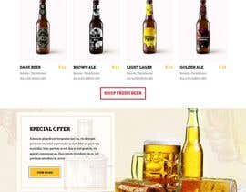 #35 for Website for a brewery by webdeveloperAlal