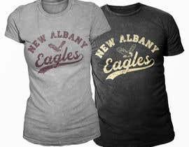 #354 para New Albany Spirit Wear Shirt Designs por Exer1976