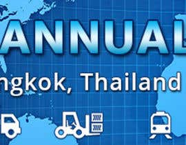 #39 untuk Design a Banner for 2015 Conference for Global Logistics Network oleh htanhdesign