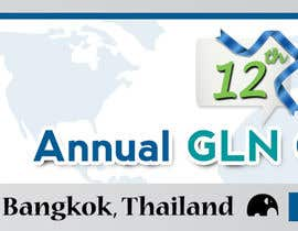 #34 untuk Design a Banner for 2015 Conference for Global Logistics Network oleh IllusionG