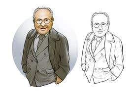 #15 untuk Need a caricature/sketch/artistic variation for a notable person who passed away recently. oleh berragzakariae