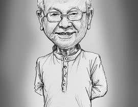 #3 untuk Need a caricature/sketch/artistic variation for a notable person who passed away recently. oleh Suhendrilie