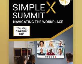 #65 untuk Flyer for a virtual summit oleh MdHumayun0747