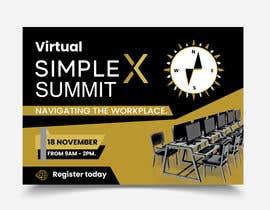 bisnuroy550 tarafından Make a flyer for a virtual summit için no 109
