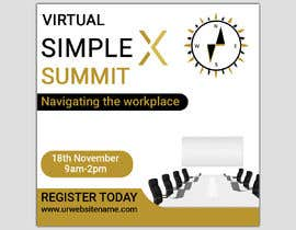monower032 tarafından Make a flyer for a virtual summit için no 121