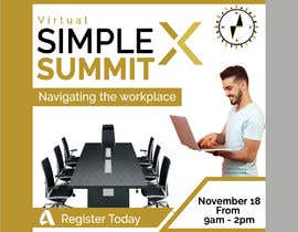fatema4093 tarafından Make a flyer for a virtual summit için no 128