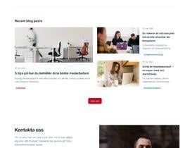 #40 untuk Web design for the startpage at fasticon.se oleh daffaalberta