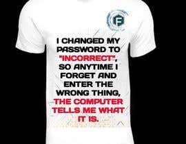 Nro 29 kilpailuun Tech company Tee-shirt design käyttäjältä Creatixia