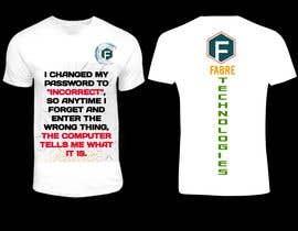 Nro 30 kilpailuun Tech company Tee-shirt design käyttäjältä Creatixia