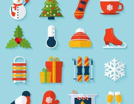 #8 untuk Christmas Clipart Pack -  Design Clipart from Scratch for my Stickers oleh mdruhul05