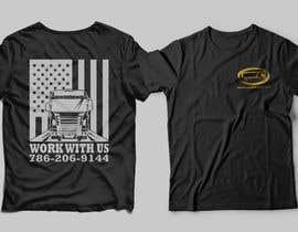 #139 para Custom T-shirt for company truck drivers por Masum411