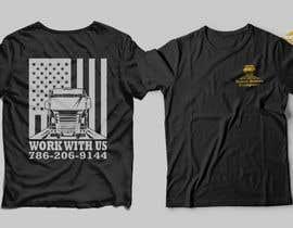 #141 para Custom T-shirt for company truck drivers por Masum411