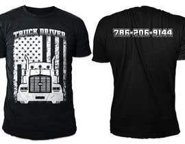 #30 para Custom T-shirt for company truck drivers por rajibislam0003