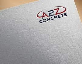 Nro 28 kilpailuun Logo for A2Z Concrete käyttäjältä tanveerhossain2