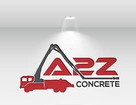 Nro 169 kilpailuun Logo for A2Z Concrete käyttäjältä josnaa831