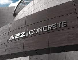 Nro 13 kilpailuun Logo for A2Z Concrete käyttäjältä nazmunit