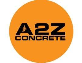 #286 untuk Logo for A2Z Concrete oleh Niamul24h