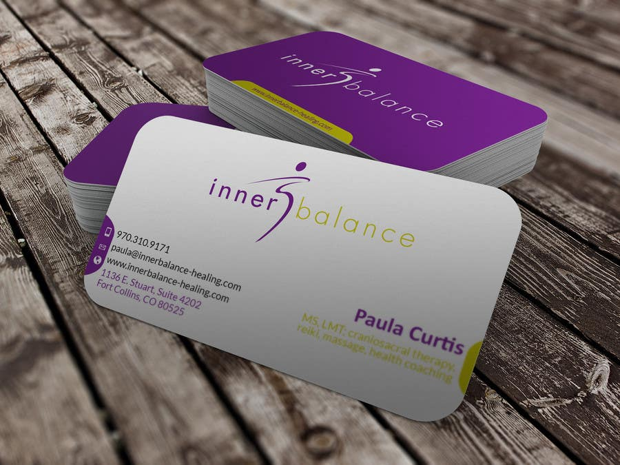 Contest Entry #                                        24                                      for                                         Design Some Business Cards for Therapeutic Massage Practice