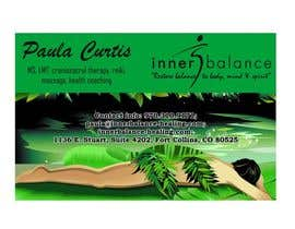#21 cho Design Some Business Cards for Therapeutic Massage Practice bởi Shrey0017