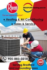 #7 untuk Design an Advertisement for Heating and Air Conditioning Company oleh muzden