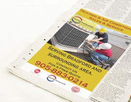 #9 untuk Design an Advertisement for Heating and Air Conditioning Company oleh igraphicdesigner